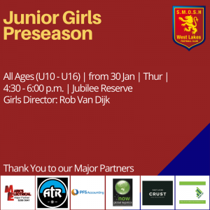 Girls Preseason