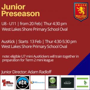 Junior Preseason