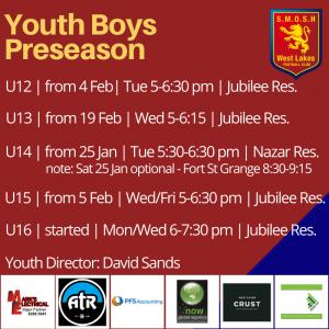Youth Preseason